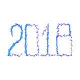 2018 Happy New Year Stock Photos
