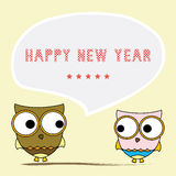 Happy new year greeting card6 Royalty Free Stock Photo