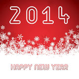 Happy New Year. Greeting card vector Royalty Free Stock Image