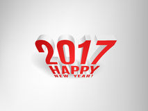 2017 Happy New Year!. Greeting Christmas Background. Vector EPS10 Stock Images