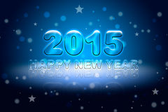 Happy New Year-2015 Royalty Free Stock Photography
