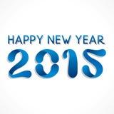 Happy new year greeting 2015. Stock Stock Photo