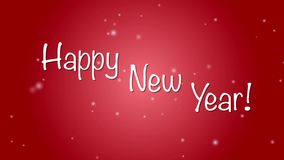 Happy new Year! stock footage