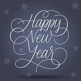 Happy New Year Greetings Royalty Free Stock Photography