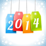 Happy New Year Greetings Card. Design Stock Images