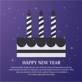 Happy new year greetings card Royalty Free Stock Photo