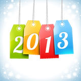 Happy New Year Greetings Card vector. Happy New Year Greetings Card Design Royalty Free Illustration