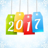 Happy New Year Greetings Card Royalty Free Stock Photography