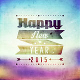 Happy New Year Greetings Vector Design Stock Photos