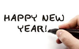 Happy New Year Hand royalty free stock images