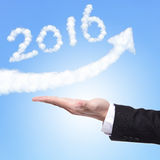 Happy new year 2016 Royalty Free Stock Image