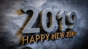 Happy new year 2019 vector illustration