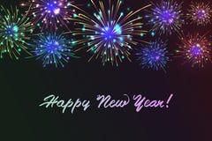 Happy New 2018 Year. Royalty Free Stock Photo