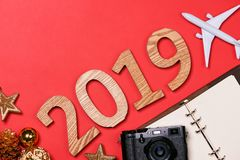 2019 Happy New Year. Holiday background.  royalty free stock images
