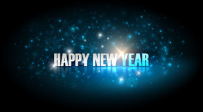 Happy new year. Holiday background Vector Illustration