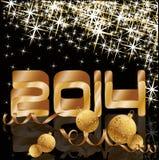 Happy new 2014 year holiday background Royalty Free Stock Image