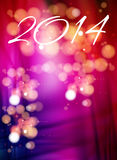 Happy new year 2014. Holiday background Royalty Free Stock Image