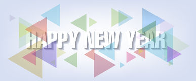 Happy new year 2017 holiday background. And fireworks, flowers stock illustration