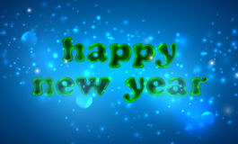 Happy new year. holiday background Stock Photography