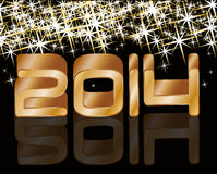 Happy new year 2014. holiday background Royalty Free Stock Photos