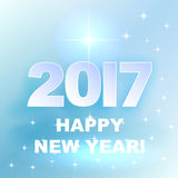 2017 Happy New Year! Holiday background. 2017 Happy New Year! Winter Holiday background Royalty Free Stock Images