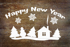 Happy New Year Holiday Conceptual Image Royalty Free Stock Photo