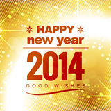 Happy new year holiday. Happy new year greeting design Royalty Free Stock Image