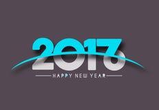 Happy new year 2017 Holiday Text Vector. Happy new year 2017 & 2016 Holiday Text Vector Illustration background Stock Photos