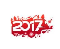Happy new year 2017 Holiday Vector Stock Photos