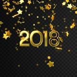 Happy 2018 New Year. Royalty Free Stock Photos