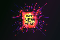Happy 2017 New Year. Stock Photography
