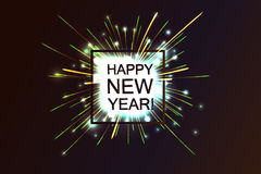 Happy 2017 New Year. Royalty Free Stock Photos