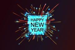 Happy 2017 New Year. Stock Image