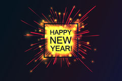 Happy 2017 New Year. Royalty Free Stock Photo
