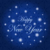 Happy New Year. Holiday Vector Illustration. Winter background stock photos
