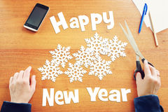 Happy New Year Holidays Royalty Free Stock Photo