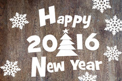 Happy New Year Holidays-2016 Stock Photography