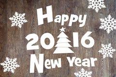 Happy New Year Holidays-2016 Stock Photography