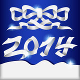 Happy New Year. 2014 New Year. Happy holidays background Royalty Free Stock Photography
