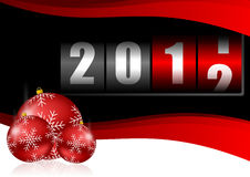 Happy new year illustration Royalty Free Stock Image