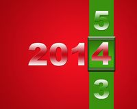 Happy new year 2014. Royalty Free Stock Images