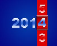 Happy new year 2014. Stock Photo