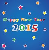 2015 Happy New Year. Illustration stock illustration