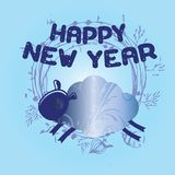 2015 Happy New Year. Illustration royalty free illustration