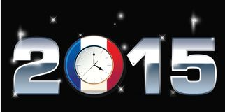2015 Happy New Year. Illustration Royalty Free Stock Photography