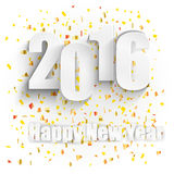 Happy New Year for 2016 Royalty Free Stock Photo