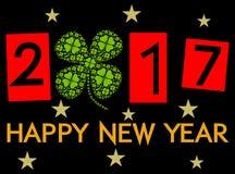 Happy New Year 2017. Illustration stock illustration