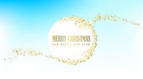 Happy New Year, vector illustration Christmas background royalty free stock photos