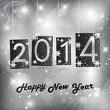 Happy New Year 2014 Royalty Free Stock Photos