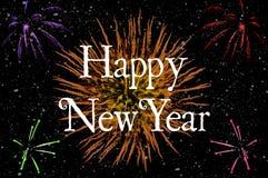 Happy new year illustration Stock Image